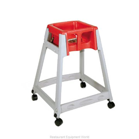 CSL Foodservice and Hospitality 877C-RED High Chair Plastic