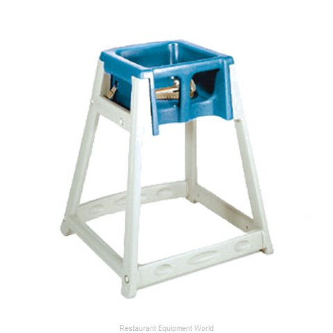 CSL Foodservice and Hospitality 888-BLU High Chair Plastic