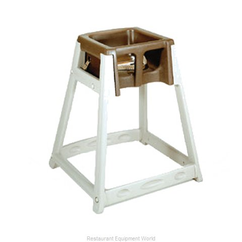 CSL Foodservice and Hospitality 888-BRN High Chair Plastic