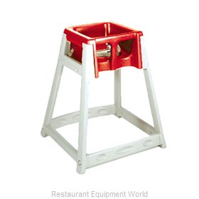 CSL Foodservice and Hospitality 888-RED High Chair Plastic