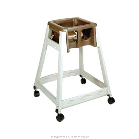 CSL Foodservice and Hospitality 888C-BRN High Chair Plastic
