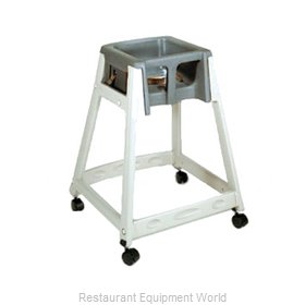 CSL Foodservice and Hospitality 888C-DGY High Chair Plastic