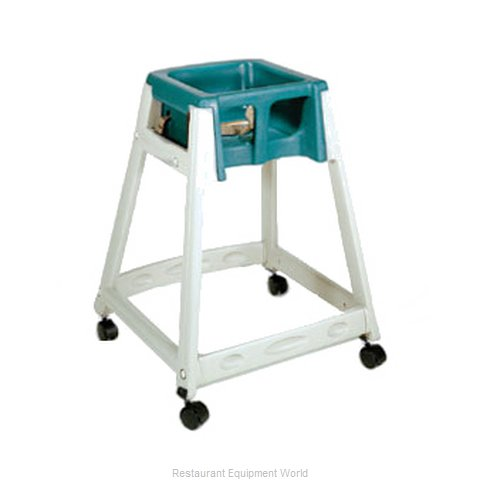 CSL Foodservice and Hospitality 888C-GRN High Chair Plastic