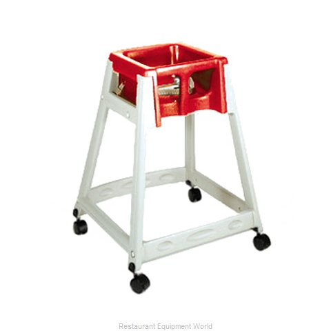 CSL Foodservice and Hospitality 888C-RED High Chair Plastic