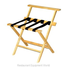 CSL Foodservice and Hospitality TLR-100WBL Luggage Rack