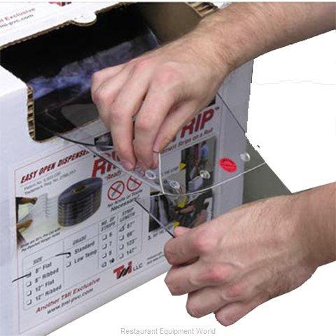 Curtron 10-08-080-100-RAS Strip Curtain Parts