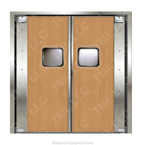 Curtron 20-L-96X96-D Door Kitchen Traffic (Magnified)