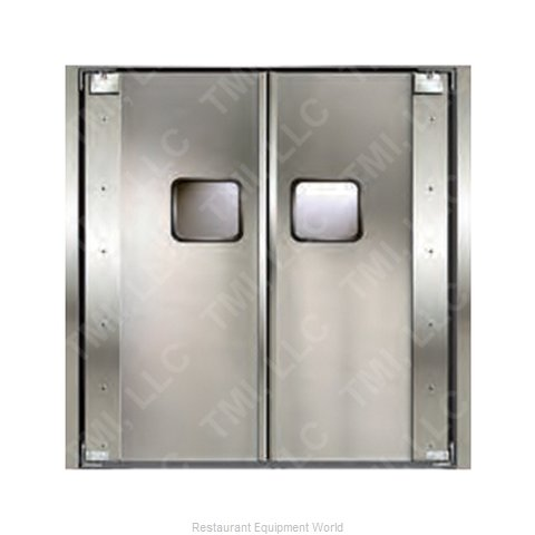 Curtron 20-SS-84X96-D Door Kitchen Traffic (Magnified)