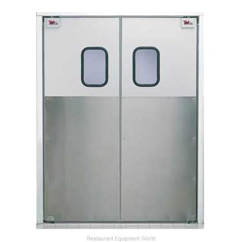 Curtron 30-AL-96X96-D Door Kitchen Traffic (Magnified)