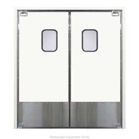 Curtron 30-L-48X96-D Door Kitchen Traffic (Magnified)