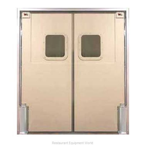 Curtron 60-48X96-D Door Kitchen Traffic