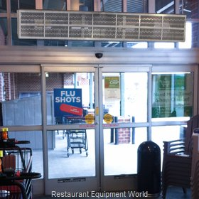 Curtron E-CFD-60-2-EH Air Curtain