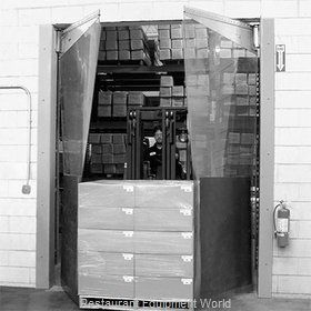Curtron MP-C-160-108120 Cooler Freezer Door, Flexible