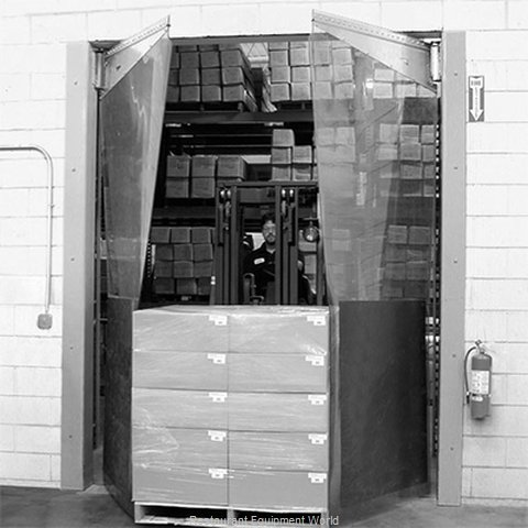 Curtron MP-C-250-96108 Cooler Freezer Door, Flexible