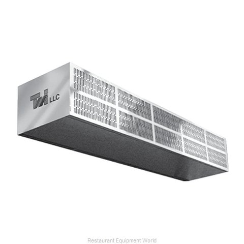 Curtron S-LP-96-2-EH-FILTER Air Curtain (Magnified)