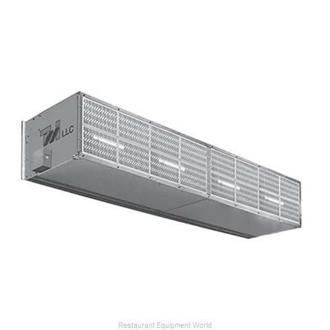 Curtron S-XHD-240-4-FILTER Air Curtain (Magnified)