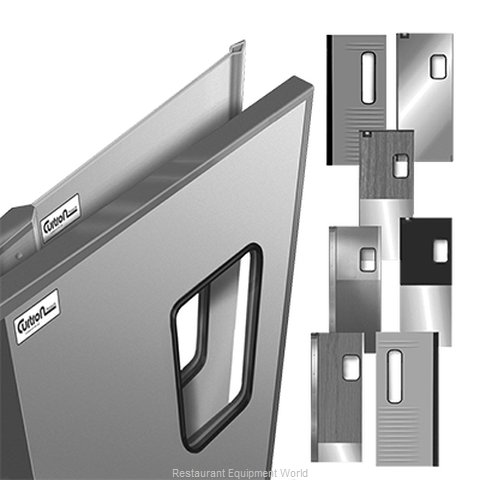Curtron SPCD-20-AL-DBL-4248 Door, Kitchen Traffic