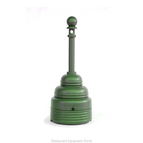 Curtron T1208-GREEN Sand Urn (Magnified)