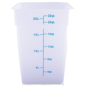 Crown Brands 56122 Food Storage Container, Square