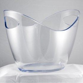 Crown Brands AB8CLR Ice Bucket