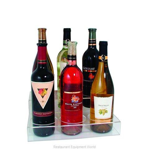 Crown Brands ABO-3X2 Liquor Bottle Display, Countertop