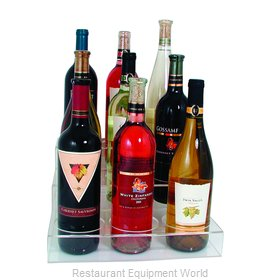 Crown Brands ABO-3X3 Liquor Bottle Display, Countertop