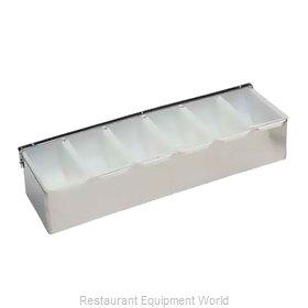 Crown Brands CD-6 Bar Condiment Holder, Countertop