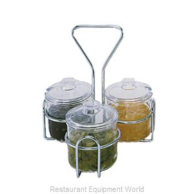 Crown Brands CJ-73H Condiment Caddy, Rack Only