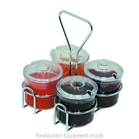 Crown Brands CJ-74H Condiment Caddy, Rack Only