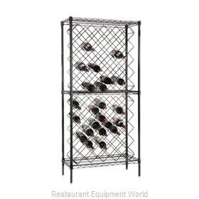 Crown Brands FDWR82BK Shelving Unit, Wine