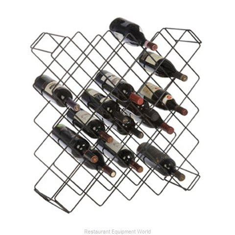 Crown Brands FWBR45BK Wine Bottle Rack
