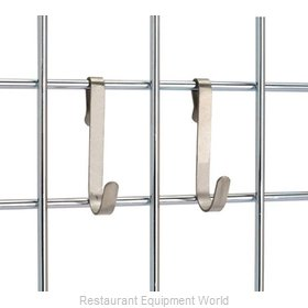 Crown Brands FWMHOOKSS Shelving, Wall Grid Accessories