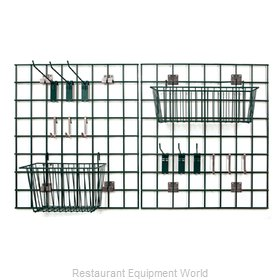 Crown Brands FWMKIT1 Shelving, Wall Grid Panel