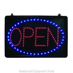 Crown Brands LED-OPEN Sign, Lighted