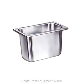 Crown Brands NJP-114 Steam Table Pan, Stainless Steel