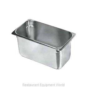 Crown Brands NJP-334 Steam Table Pan, Stainless Steel