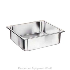 Crown Brands NJP-666 Steam Table Pan, Stainless Steel