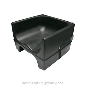 Crown Brands PP-BCS/BK Booster Seat, Plastic