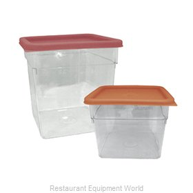 Crown Brands SCQ-2PC Food Storage Container, Square