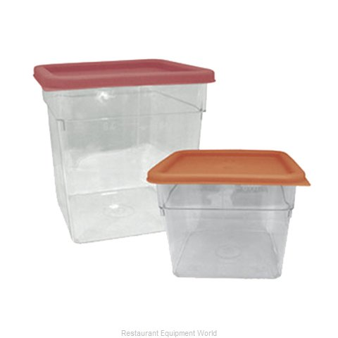 Crown Brands SCQ-8PC Food Storage Container, Square