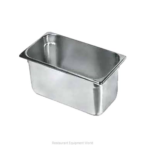 Crown Brands SPH-336 Steam Table Pan, Stainless Steel (Magnified)