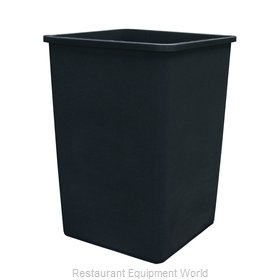 Crown Brands TCSQ-35B Trash Receptacle, Outdoor/Indoor