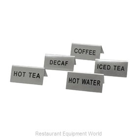 Crown Brands TS-HWT Tabletop Sign, Tent / Card
