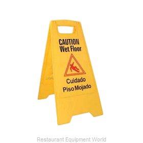 Crown Brands WFS-25 Sign, Wet Floor