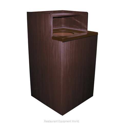 Crown Brands WRU-32 Trash Receptacle, Cabinet Style (Magnified)