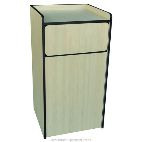 Crown Brands WRU-35 Trash Receptacle, Cabinet Style