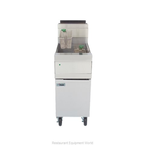Dean D160G Fryer, Gas, Floor Model, Full Pot