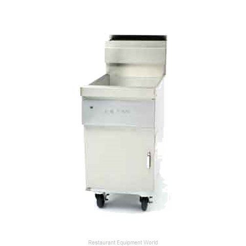 Dean D80G-T Fryer Floor Model Gas Full Pot
