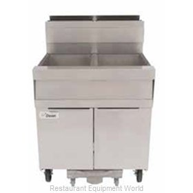 Dean SCFD450G Fryer, Gas, Multiple Battery