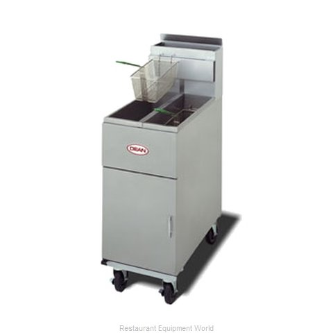 Dean SM20G-BATTERY Fryer Multiple Battery Gas